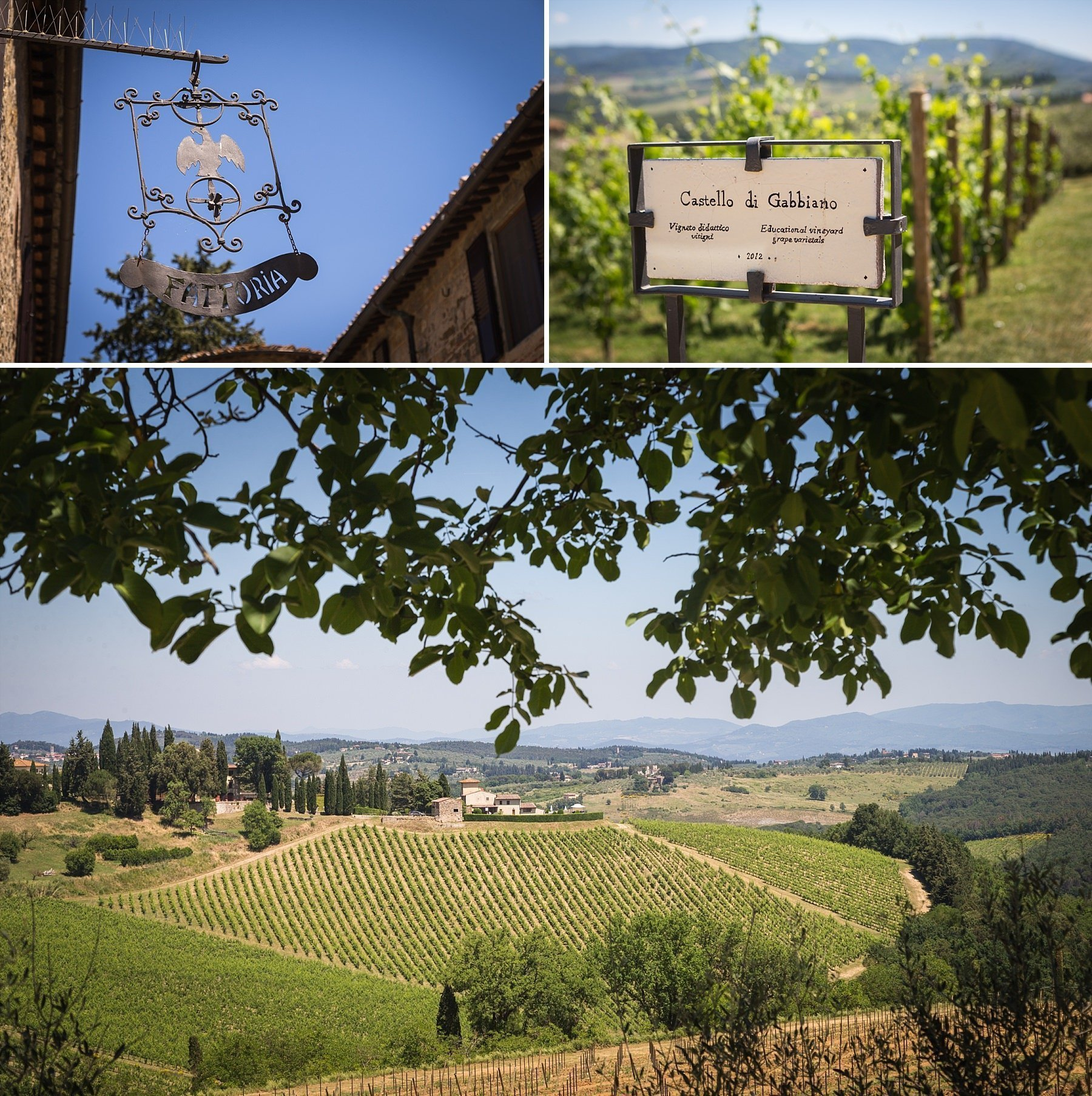 Castello di Gabbiano in Toscana