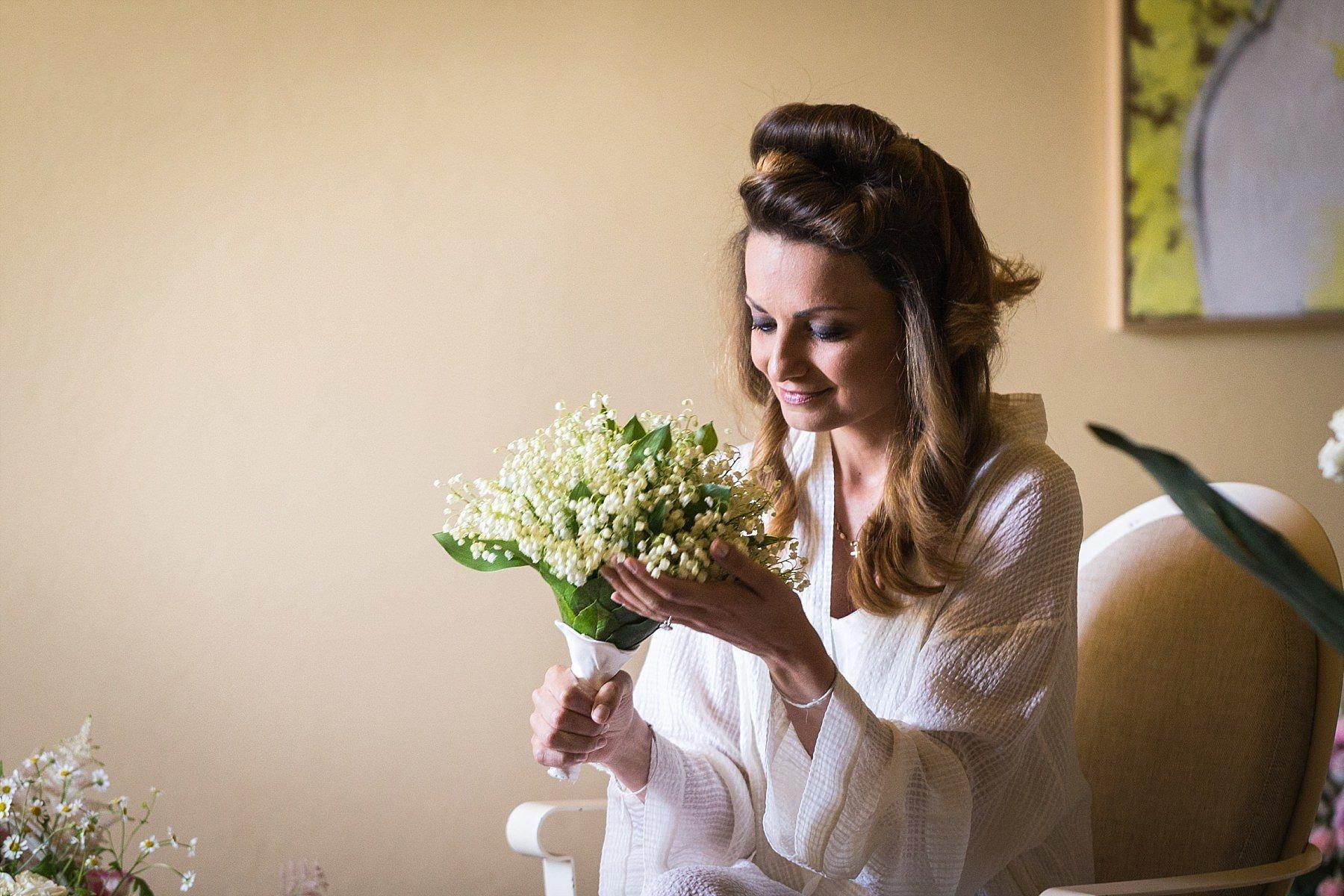 preparazione della sposa al castello di gabbiano