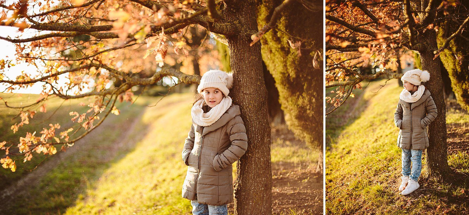 Servizio Fotografico ad una bellissima Bambina in esterno
