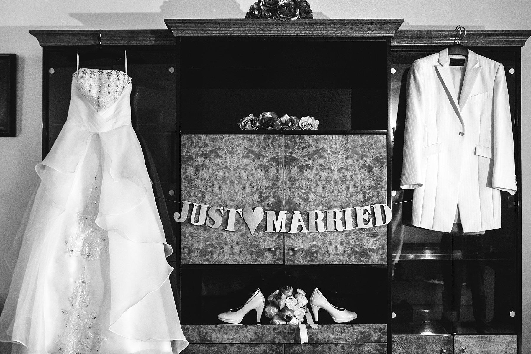 Just Married abiti da sposi