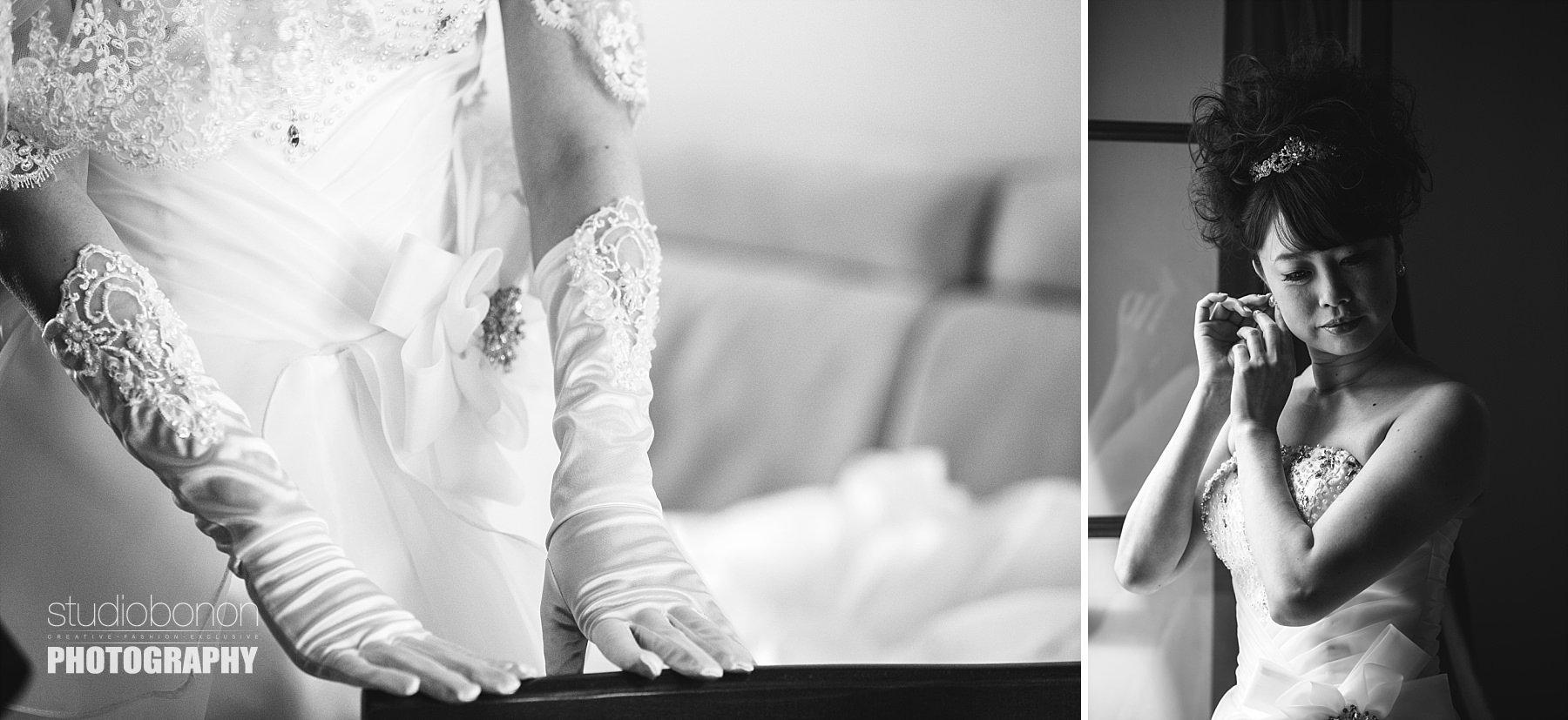 Foto di matrimonio di una sposa