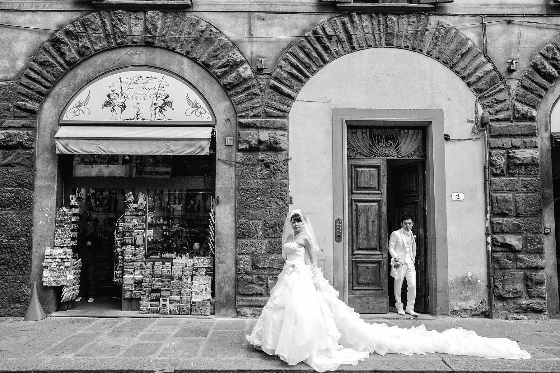 Coppia di sposi a Firenze