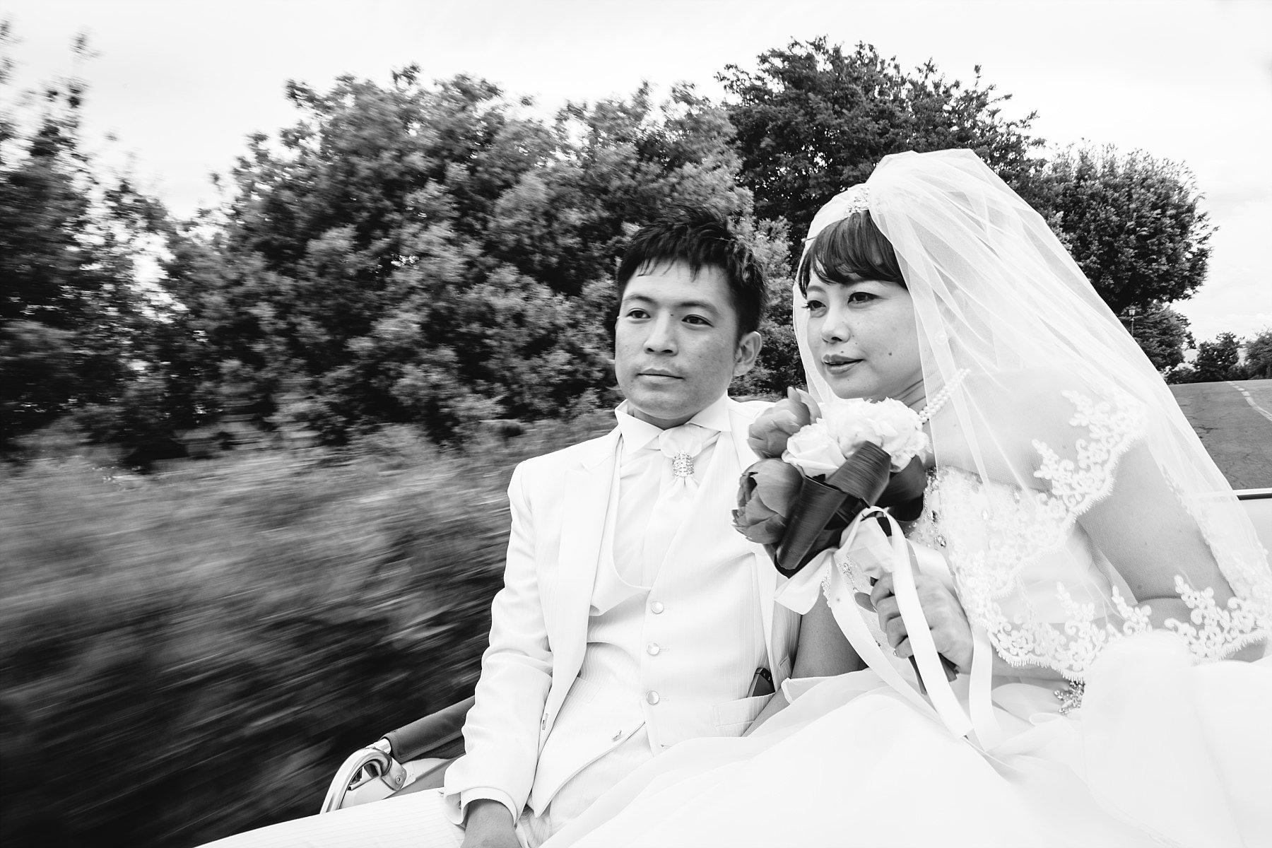 Fotografia di Matrimonio a firenze in bianco e nero
