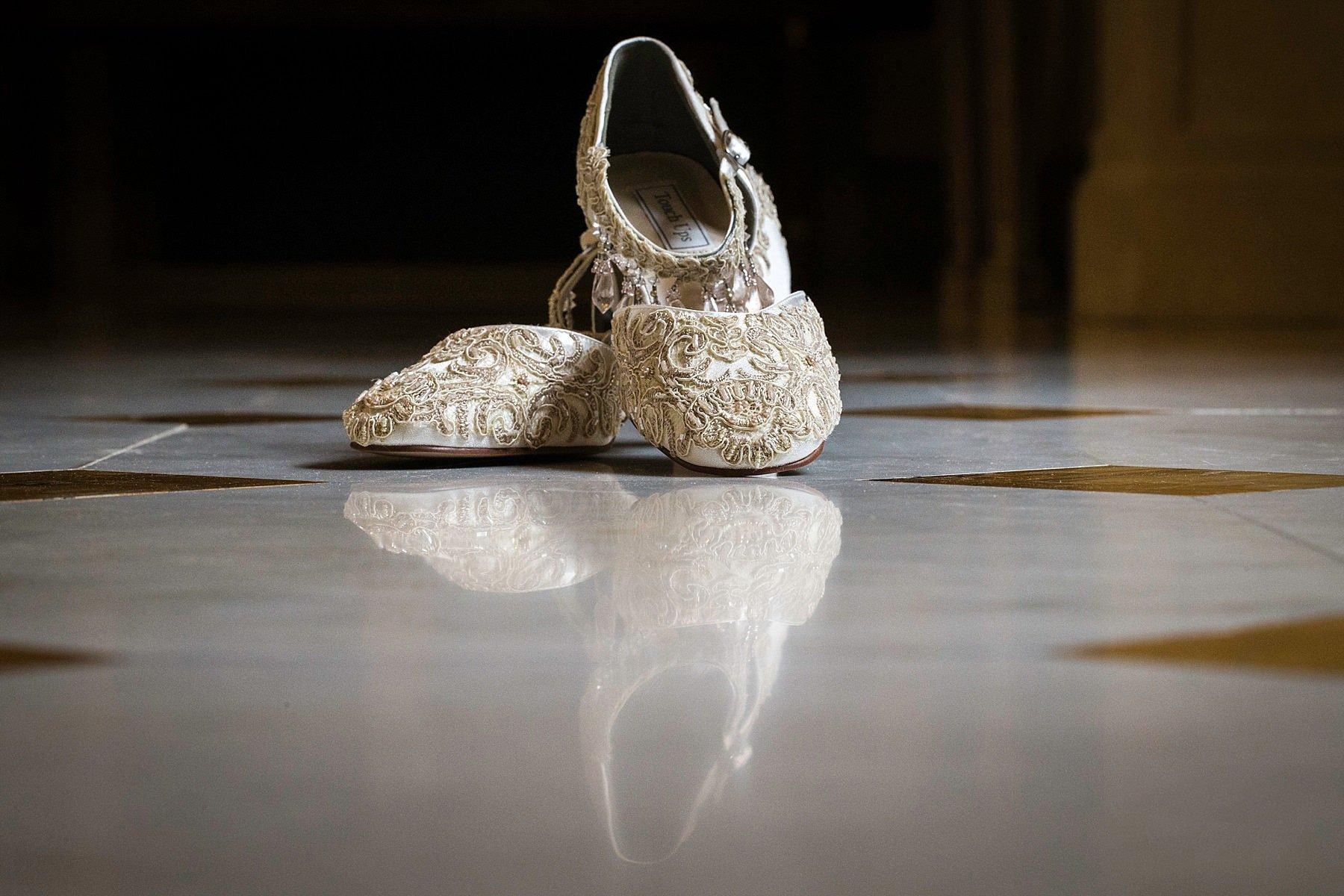 scarpe da sposa al four seasons