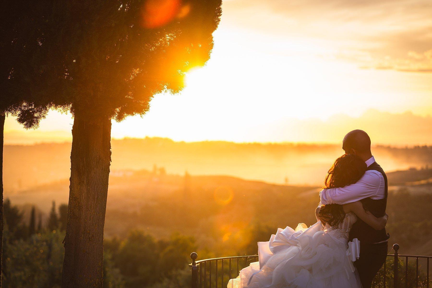 Matrimonio all' Antica Fattoria di Paterno tra le bellissime colline Toscane