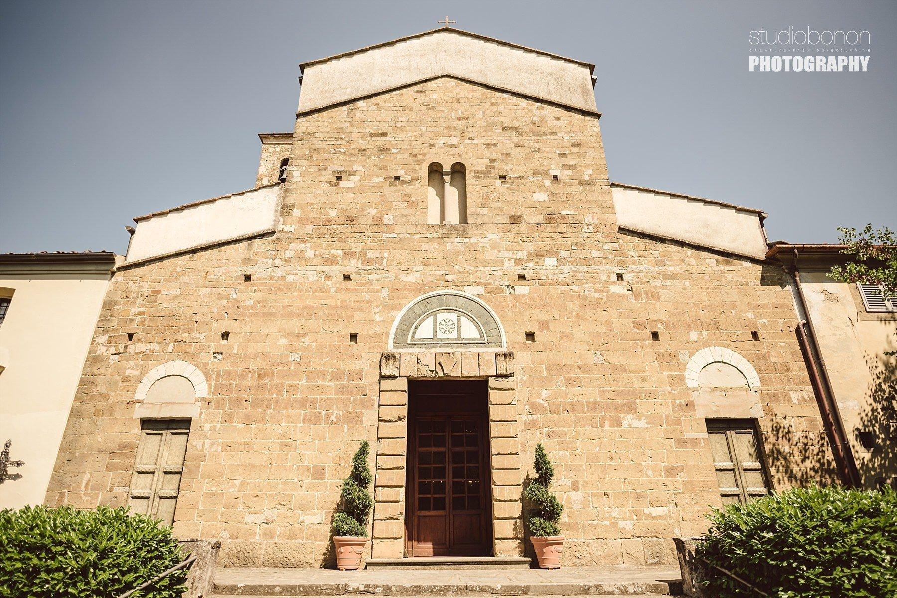 Facciata Chiesa a Firenze