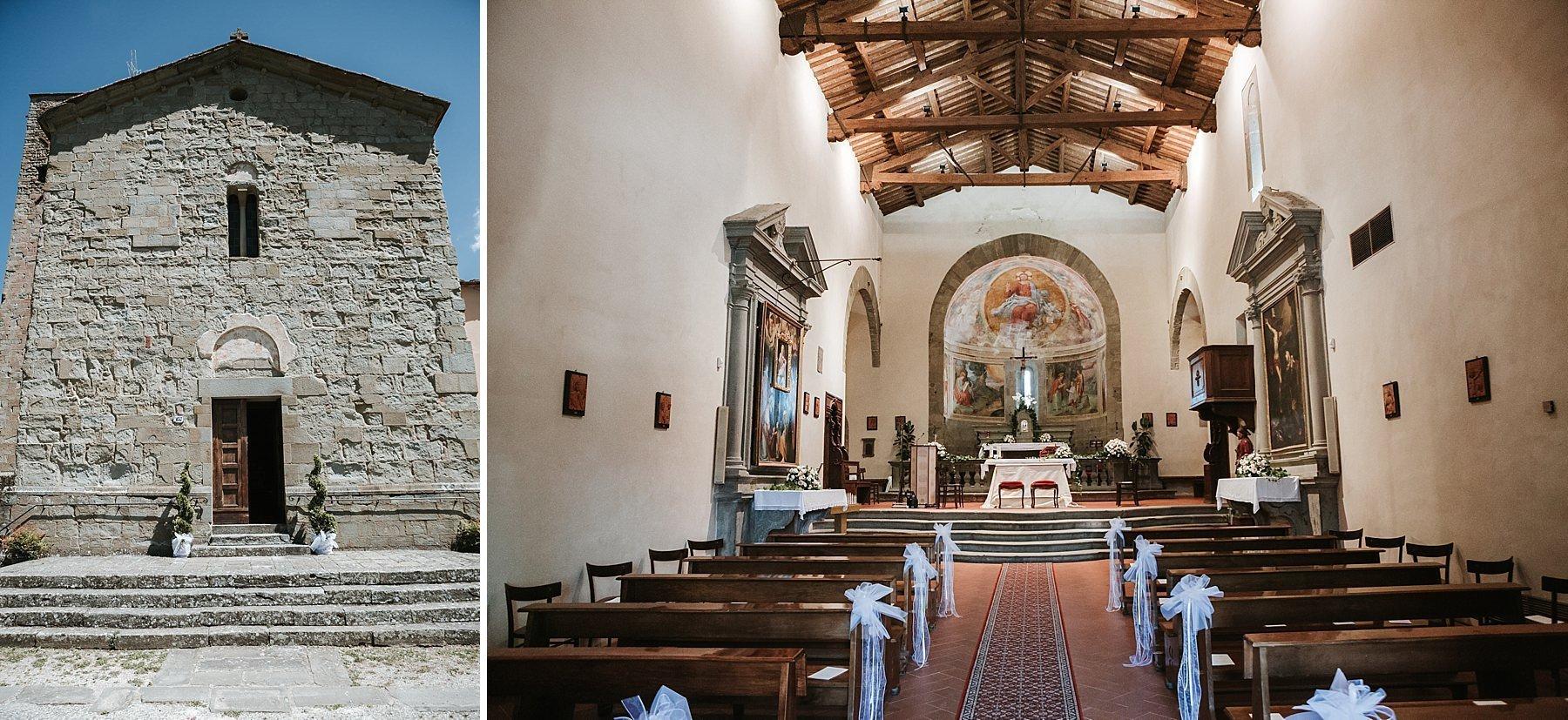 Chiesa S. Giovanni Evangelista a Valdibure Pistoia