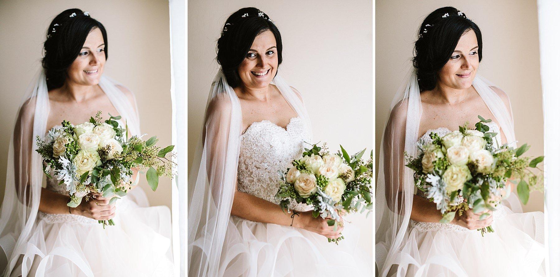 ritratti sposa con bouquet