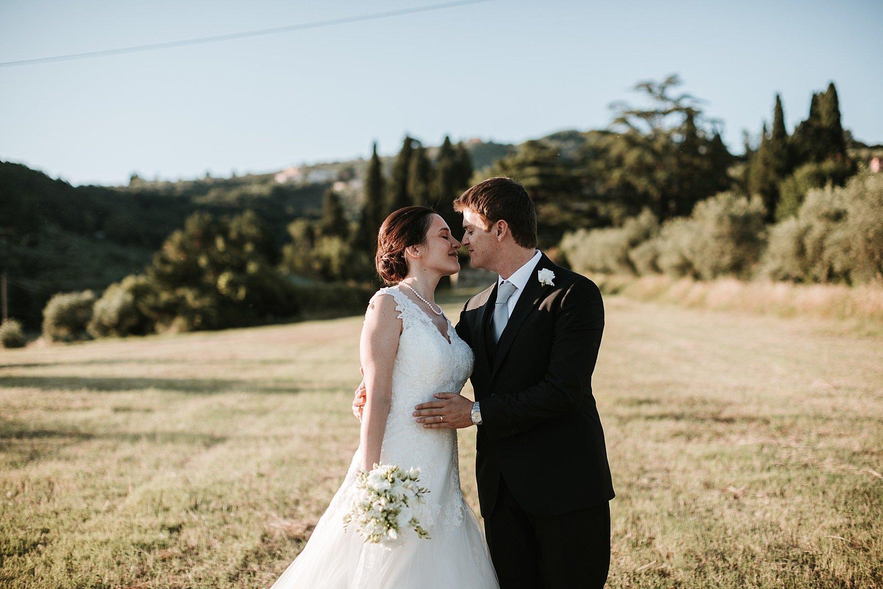 Fotografia di Sposi dopo la cerimonia