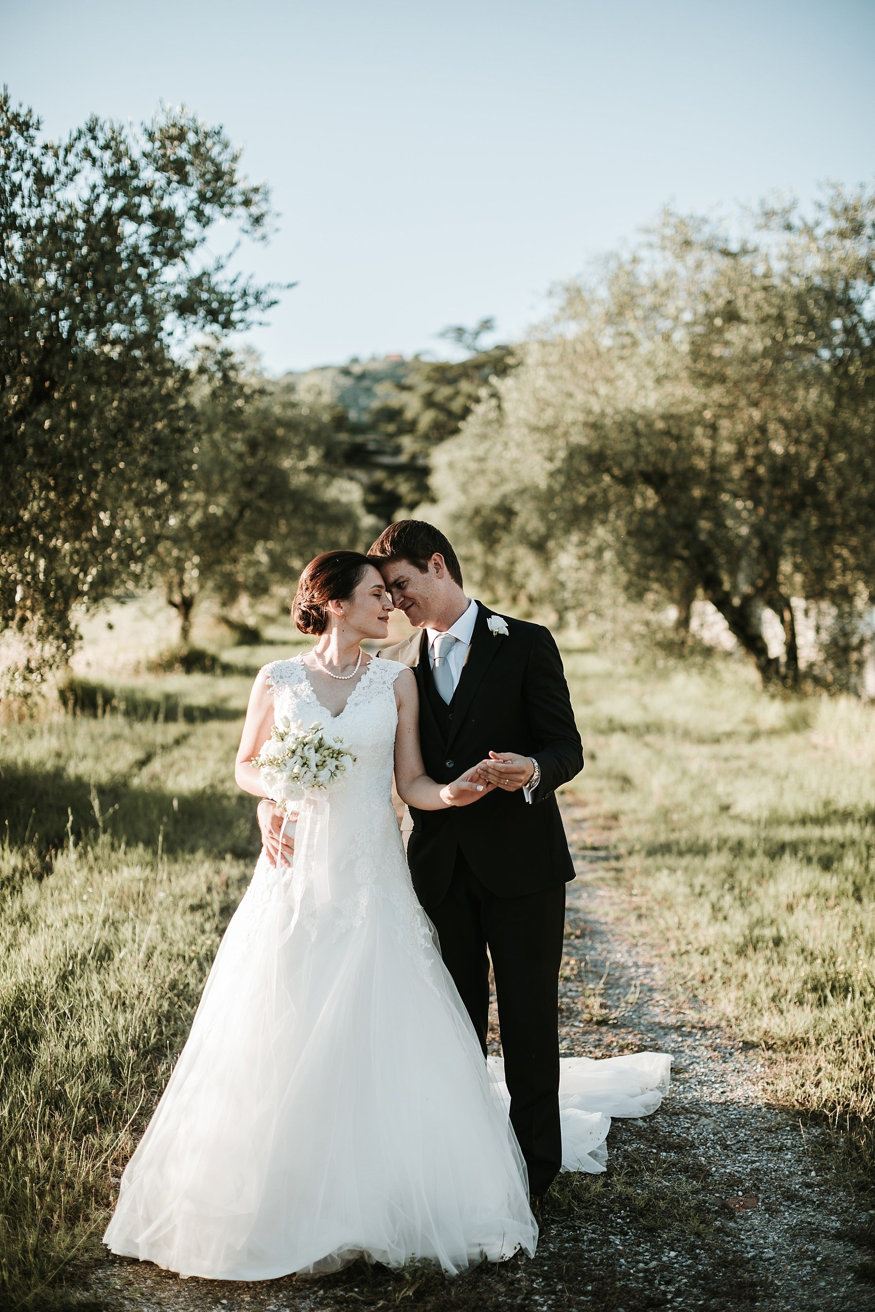 Foto Romantica di Matrimonio in Toscana