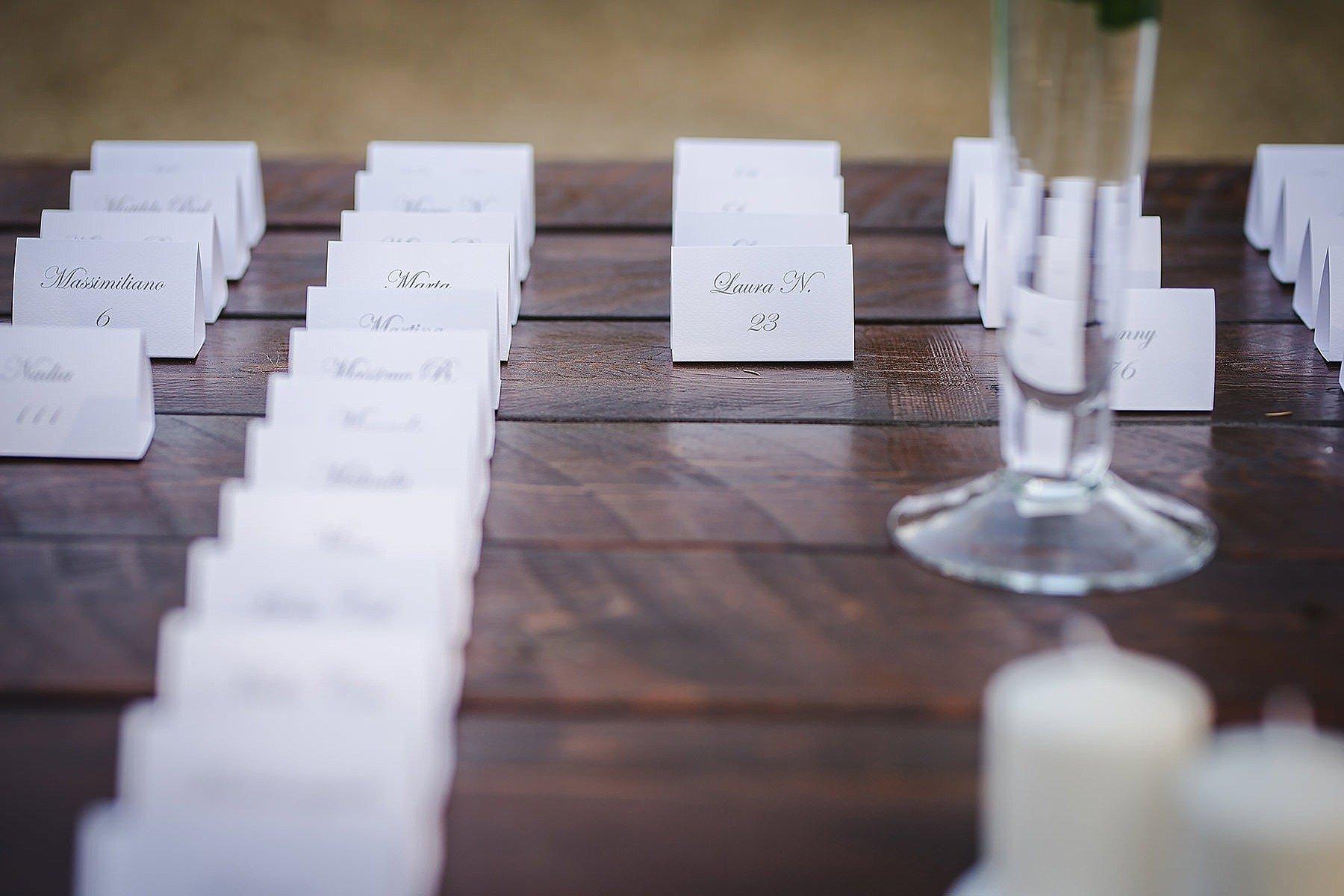 Allestimenti matrimonio a Villa di Corte