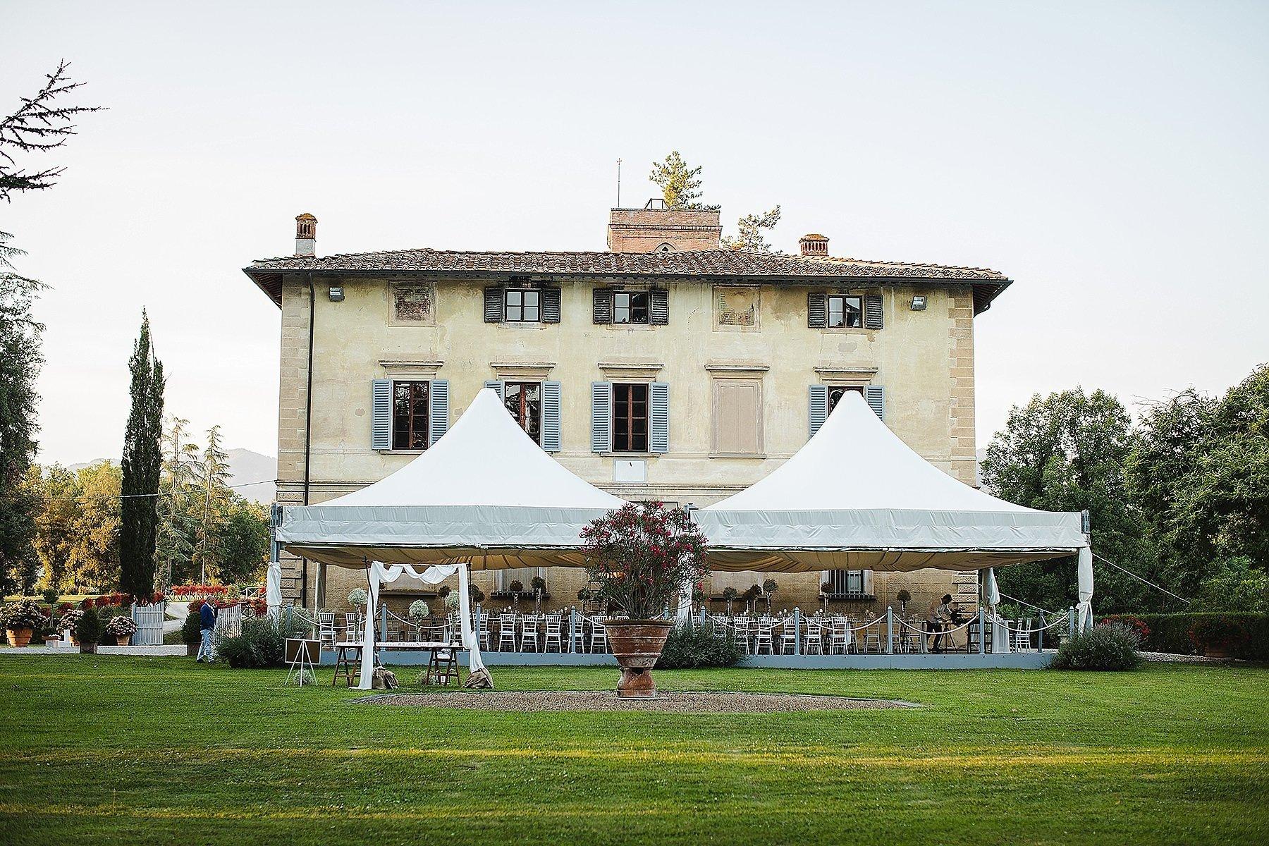 Matrimonio a Villa di Corte Frescobaldi