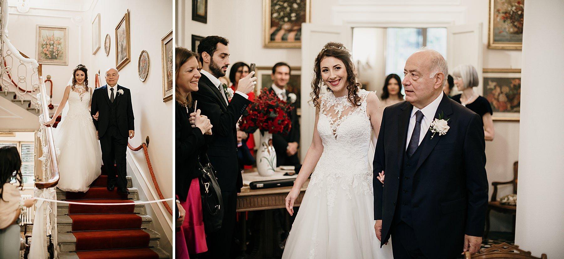 fotografia di matrimonio a firenze in inverno 735