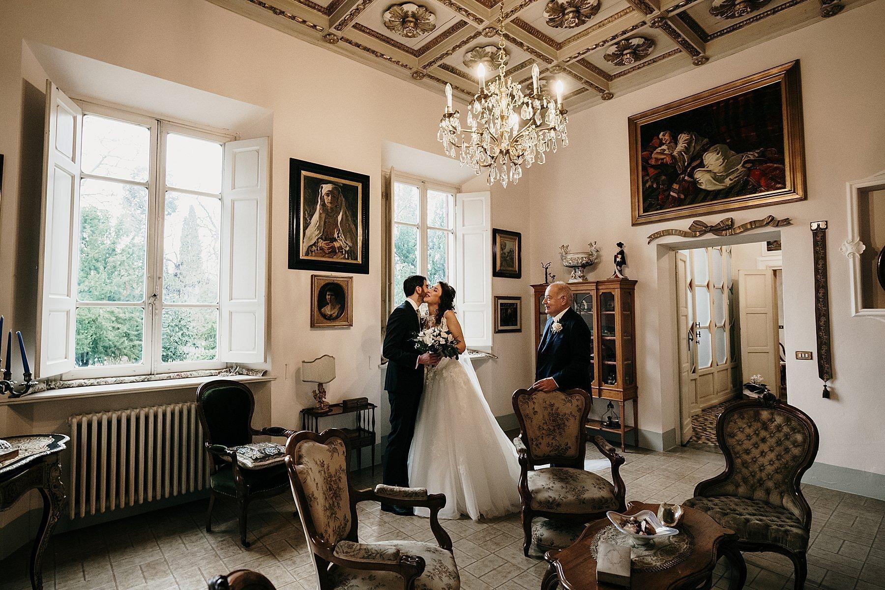 fotografia di matrimonio a firenze in inverno 739