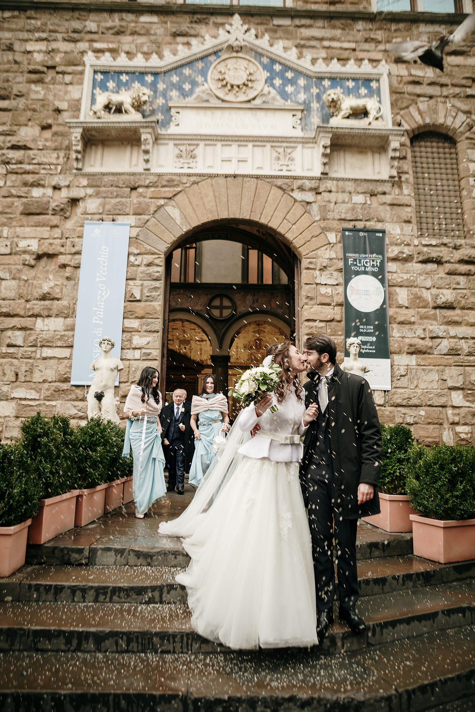 fotografia di matrimonio a firenze in inverno 757