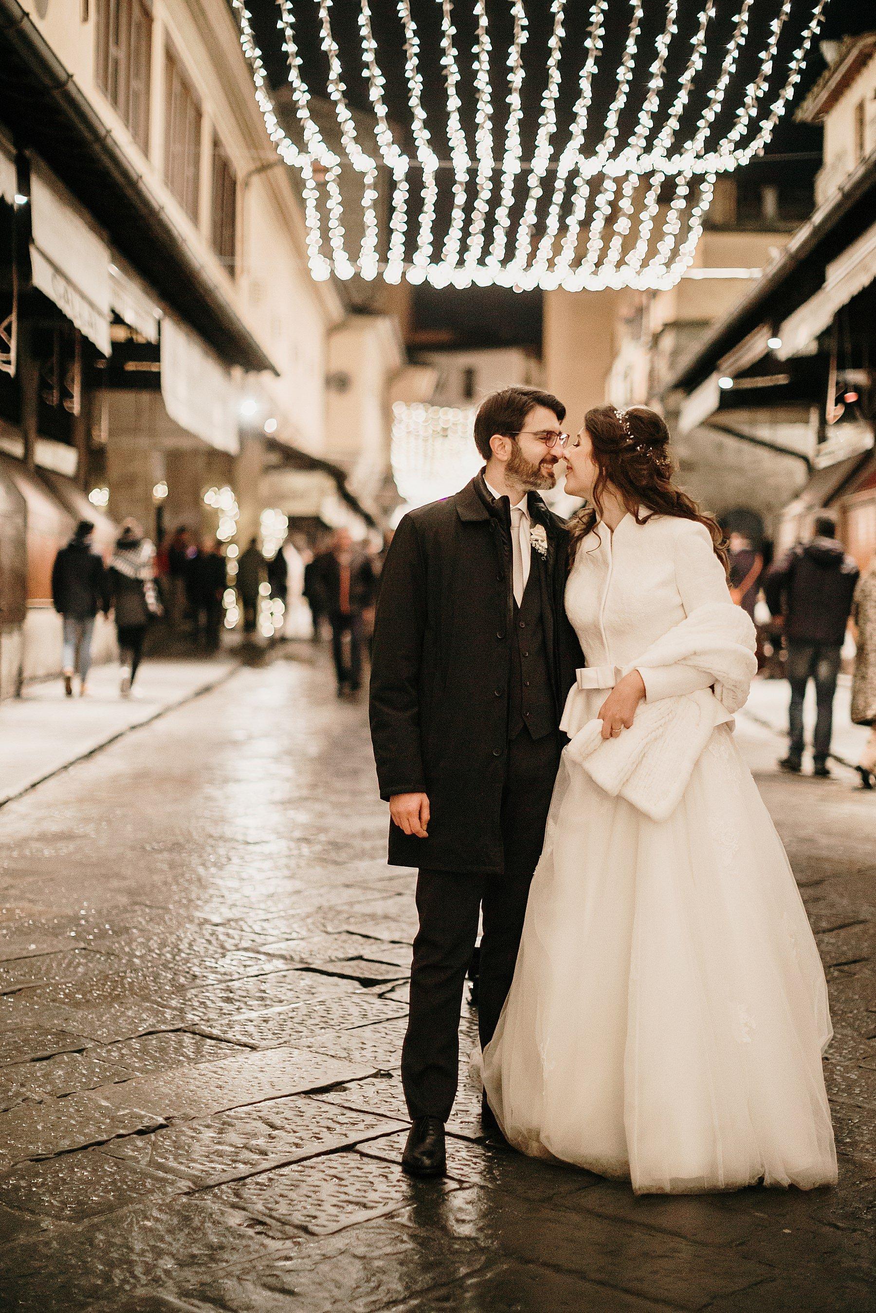 fotografia di matrimonio a firenze in inverno 773