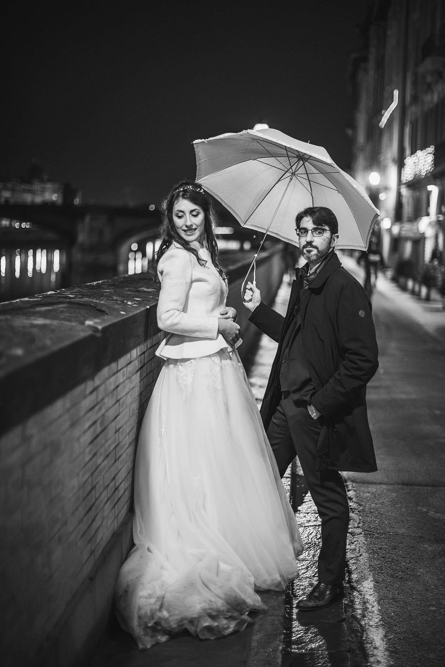 fotografia di matrimonio a firenze in inverno 779