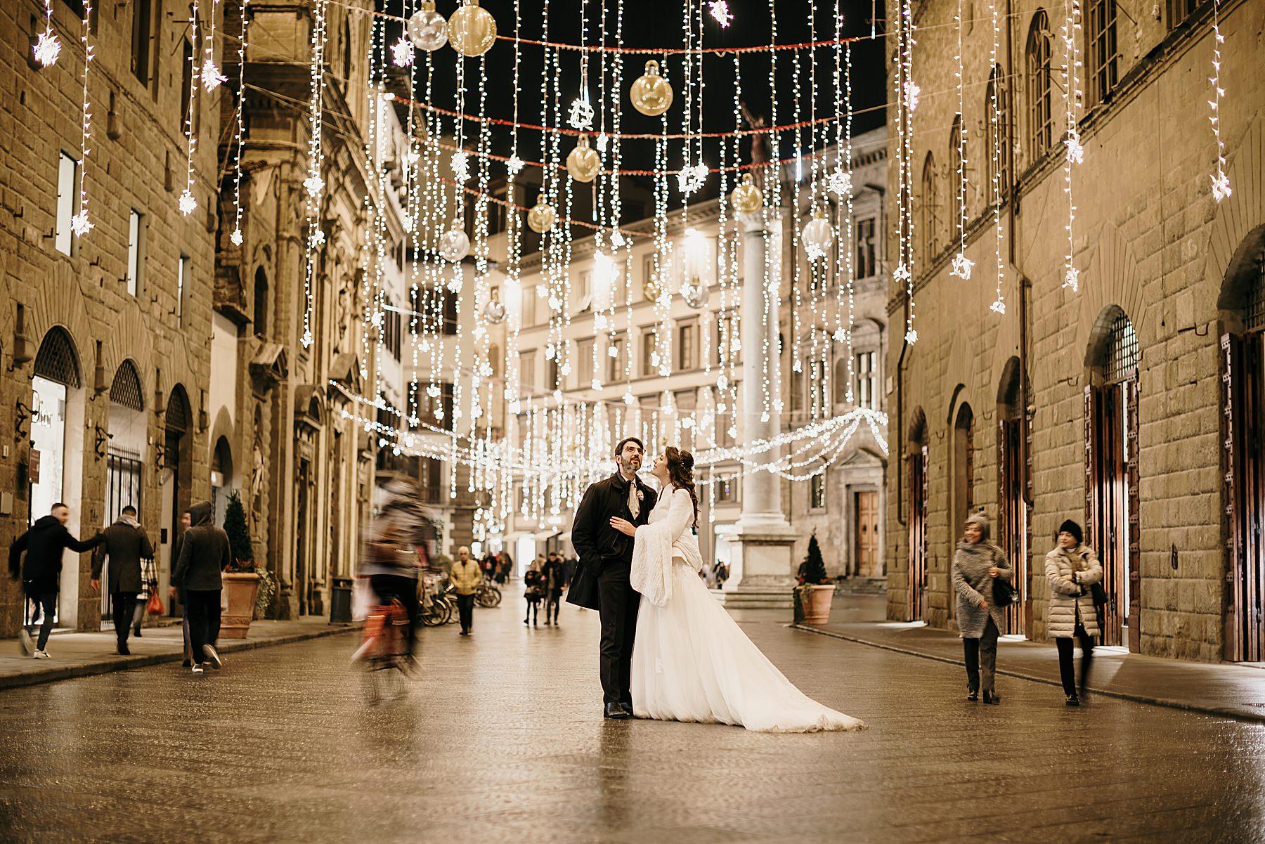 fotografia di matrimonio a firenze in inverno 782