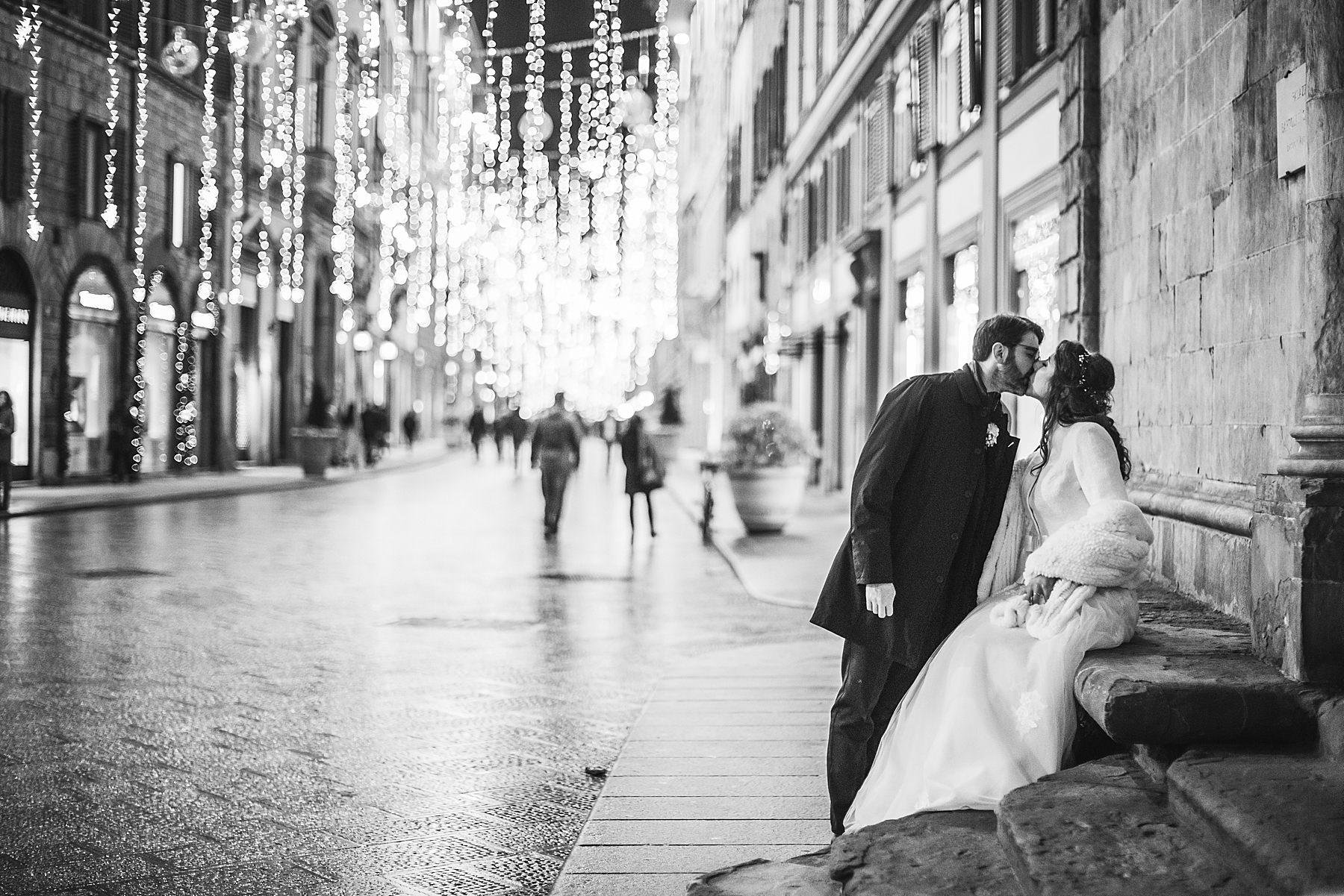 fotografia di matrimonio a firenze in inverno 785