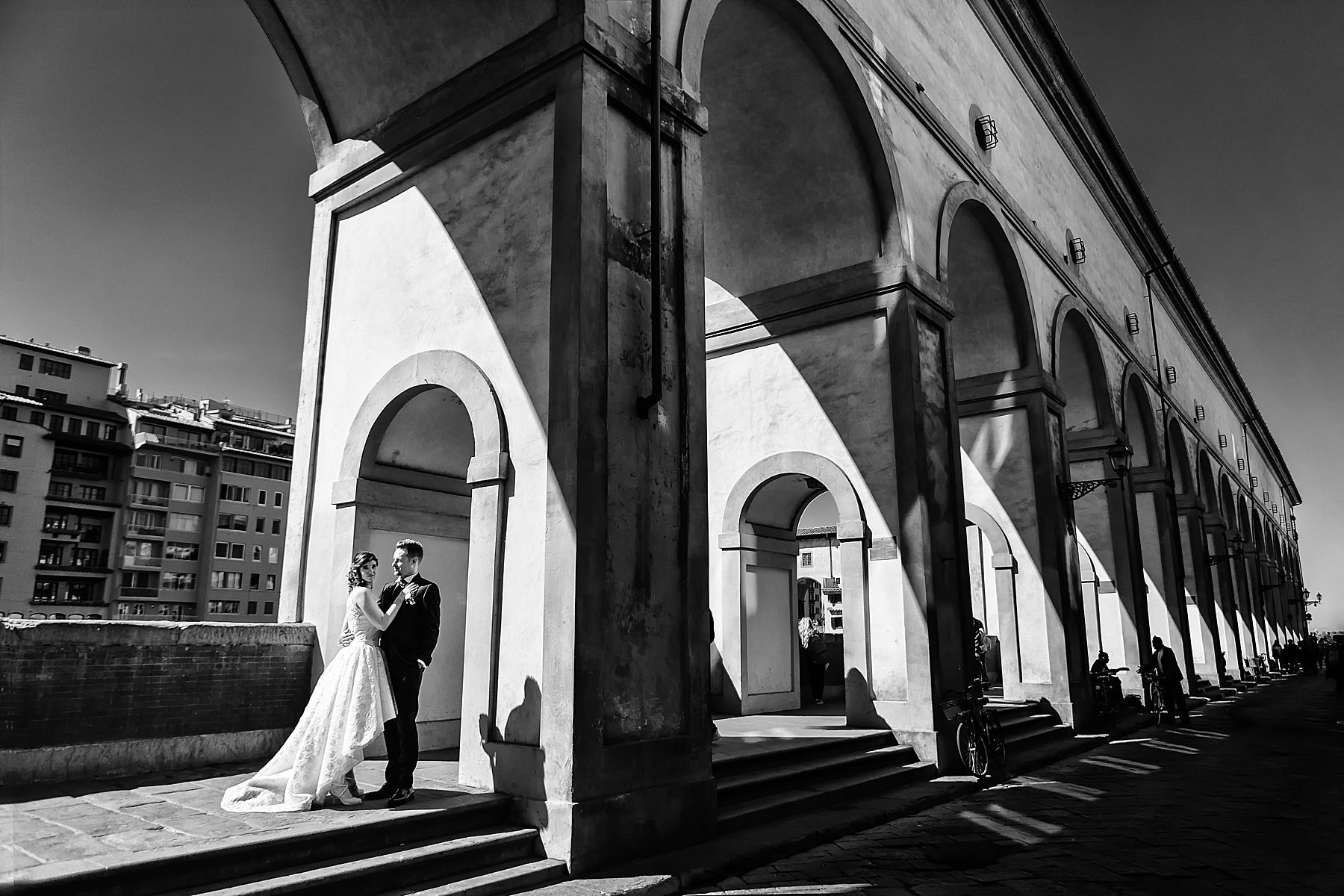 wedding portrait in Florence
