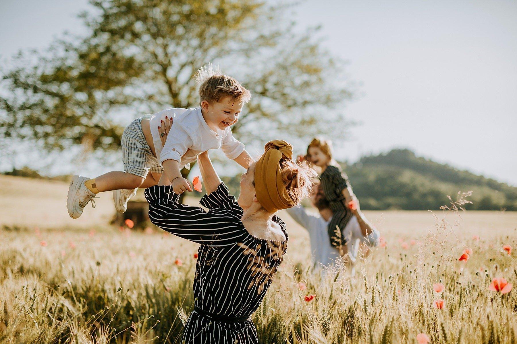 servizio fotografico per famiglia nel mugello 17