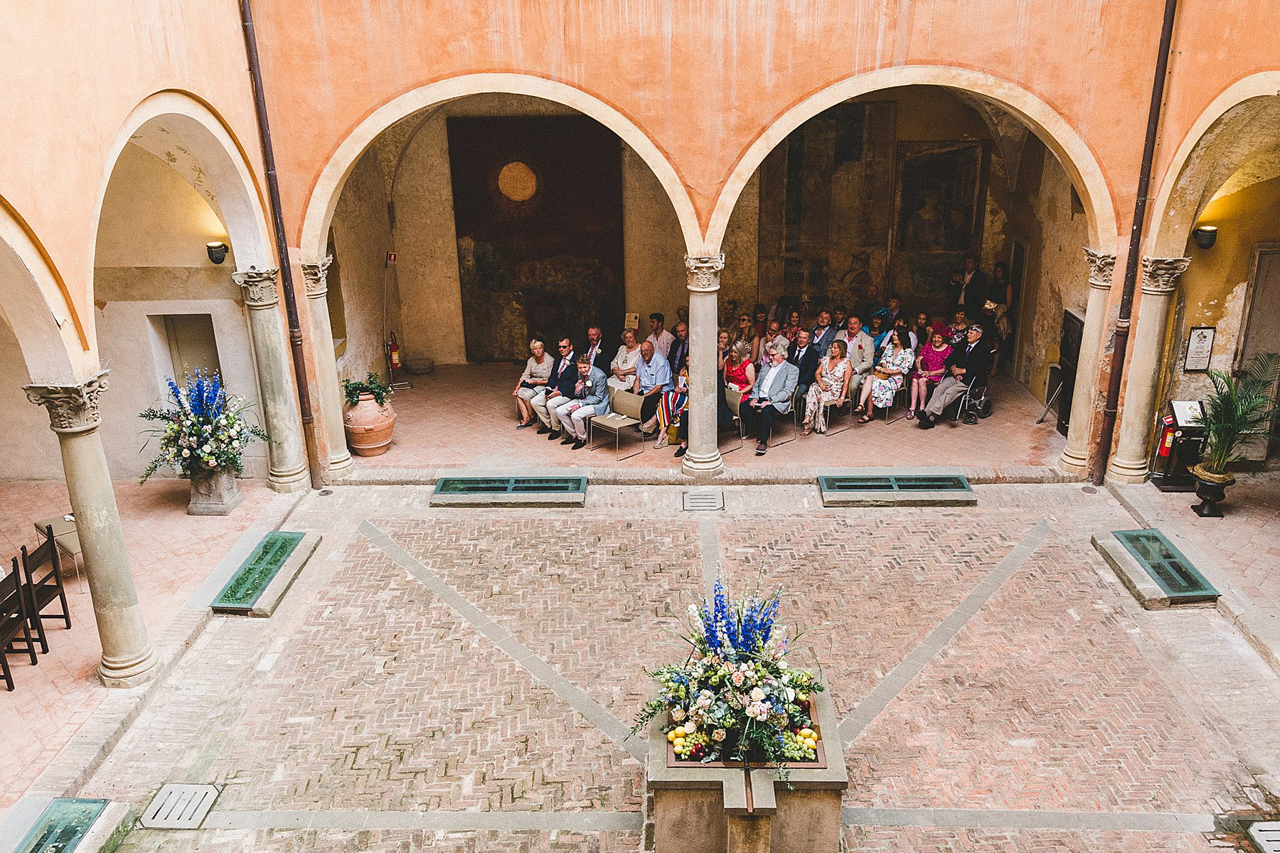 matrimonio a dozza cerimonia in rocca