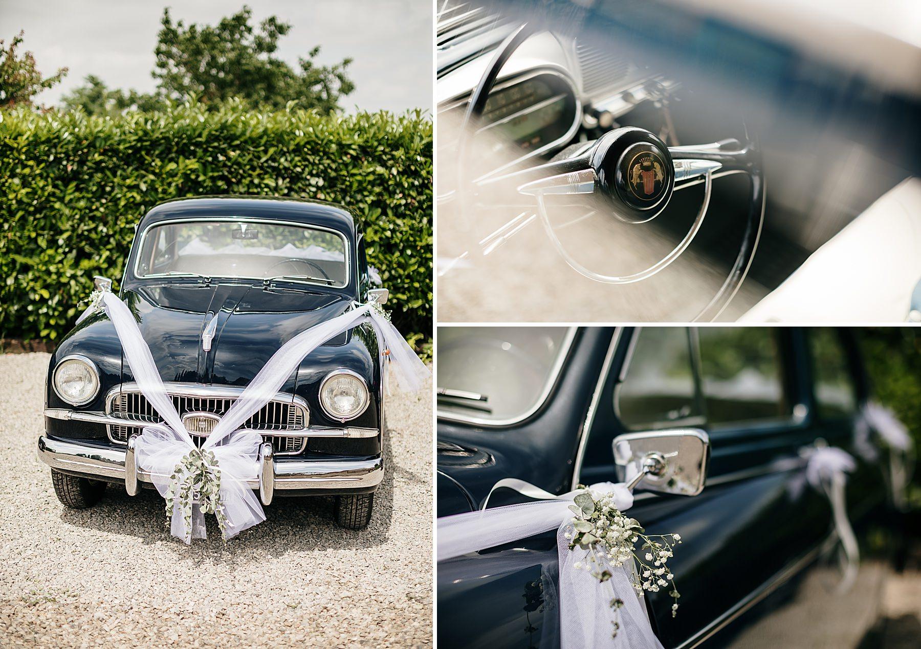 auto d'epoca fiat per matrimonio