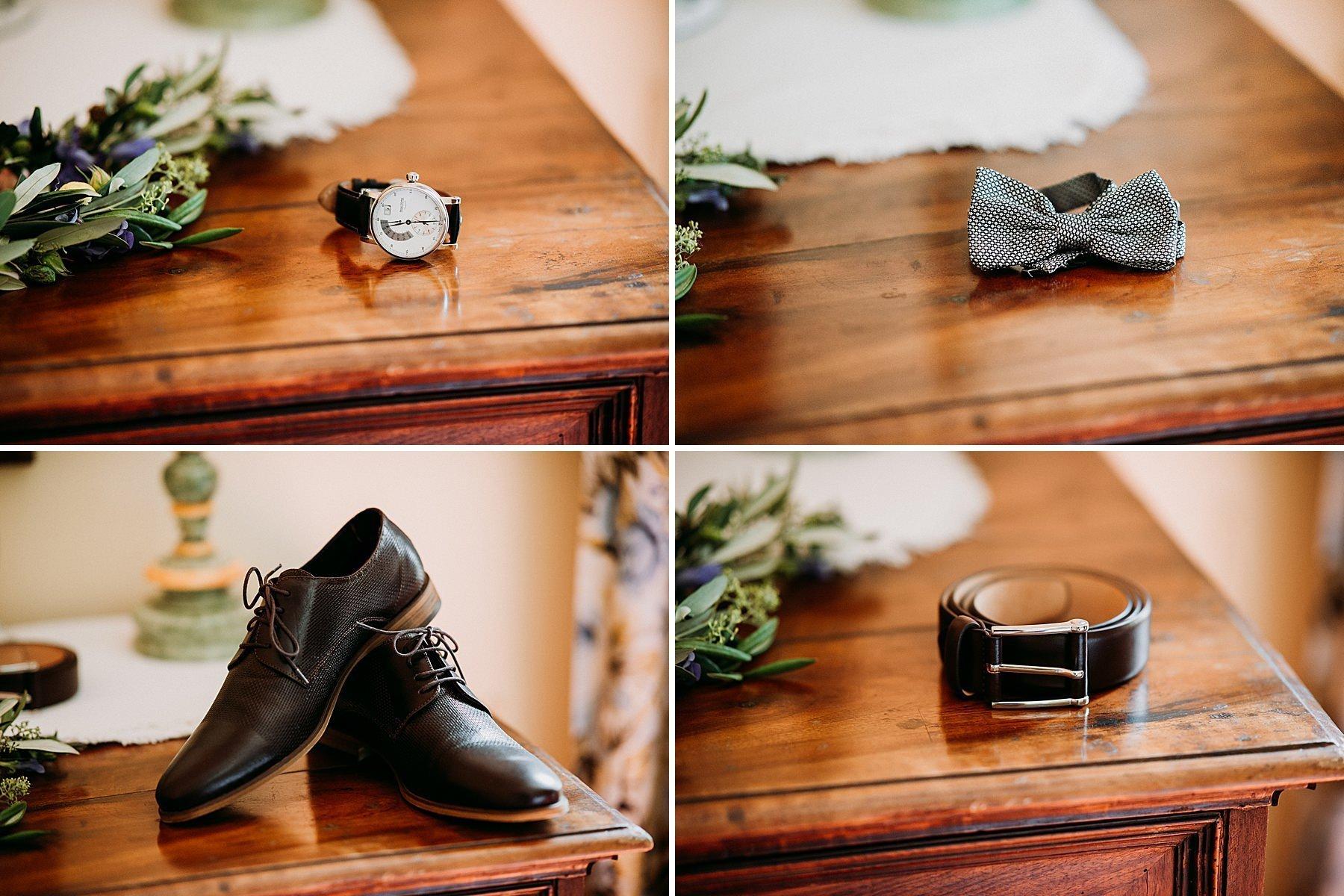 matrimonio a imola preparazione sposo in villa