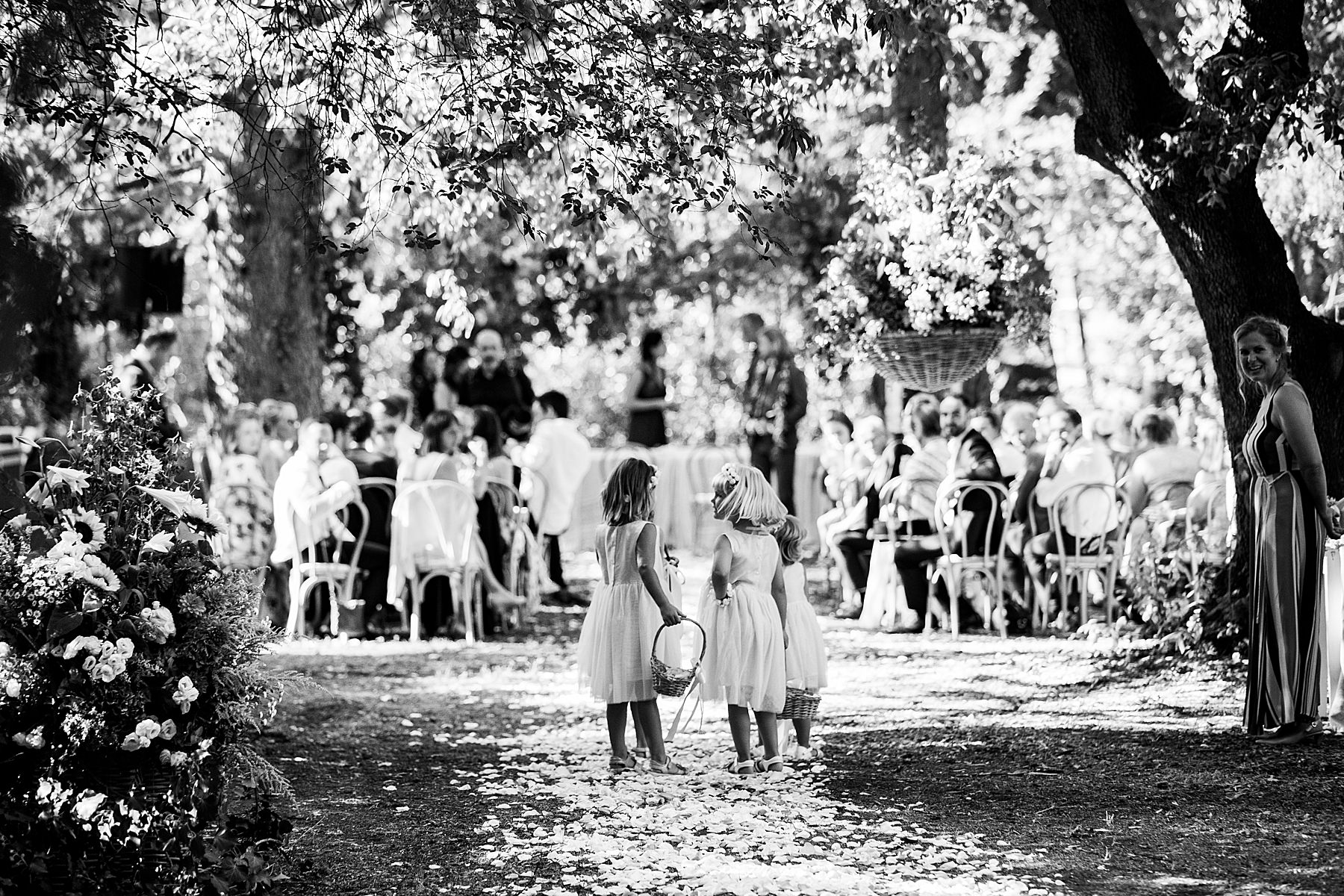 matrimonio a imola cerimonia all aperto in villa